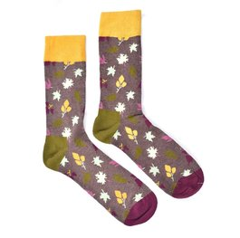 """Autumn Leaves"" COOLor Socks"