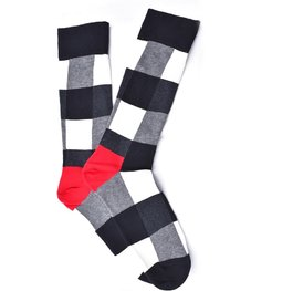 """Mono Checkered"" COOLor Socks"