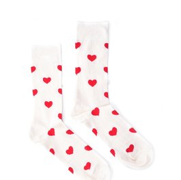 """Hearts"" COOLor Socks"