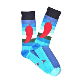"""Hot Pepper"" COOLor Socks"