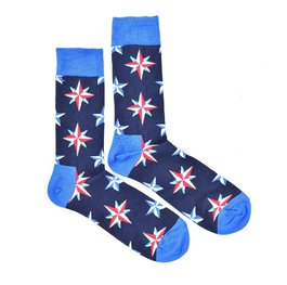 """Night Stars"" COOLor Socks"