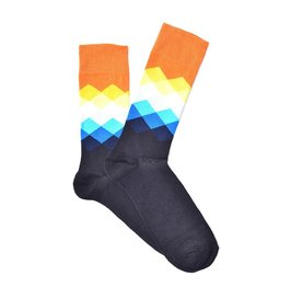 """Orange Gradient"" COOLor Socks"