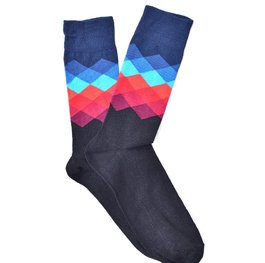 """Navy Gradient"" COOLor Socks"