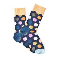 """Autumn Dots"" COOLor Socks"