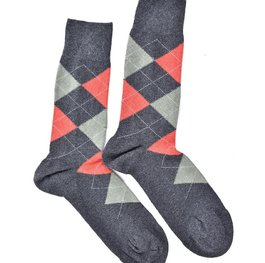 """Checkered - Brown"" COOLor Socks"