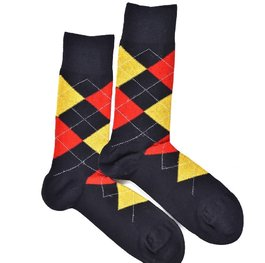 """Checkered - Black"" COOLor Socks"