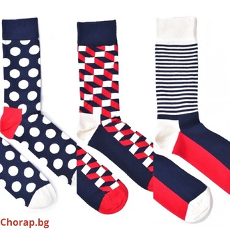 ",,Seashore"" сет 3 чифта COOLor socks - жени"