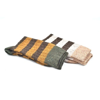 """Nice natural stripes Alpaca "" COOLor socks  2 броя"