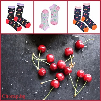 """Cherry Twist "" COOLor Socks сет от 3 броя"