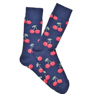 """Cherry Twist"" COOLor Socks"
