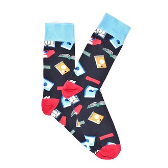"""Black Books""COOLor Socks"