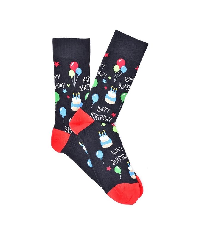 """Happy Birthday"" COOLor Socks"