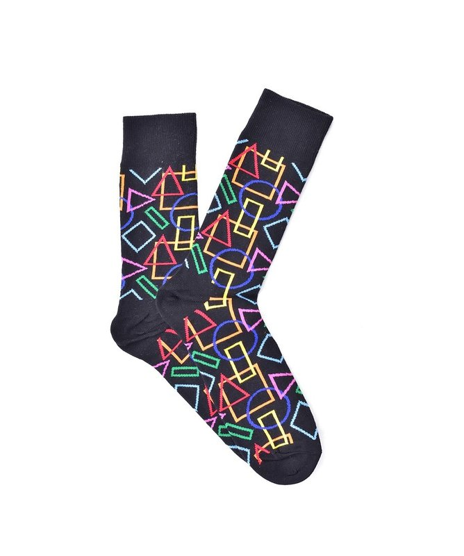 """Geometry Lines"" COOLor Socks"
