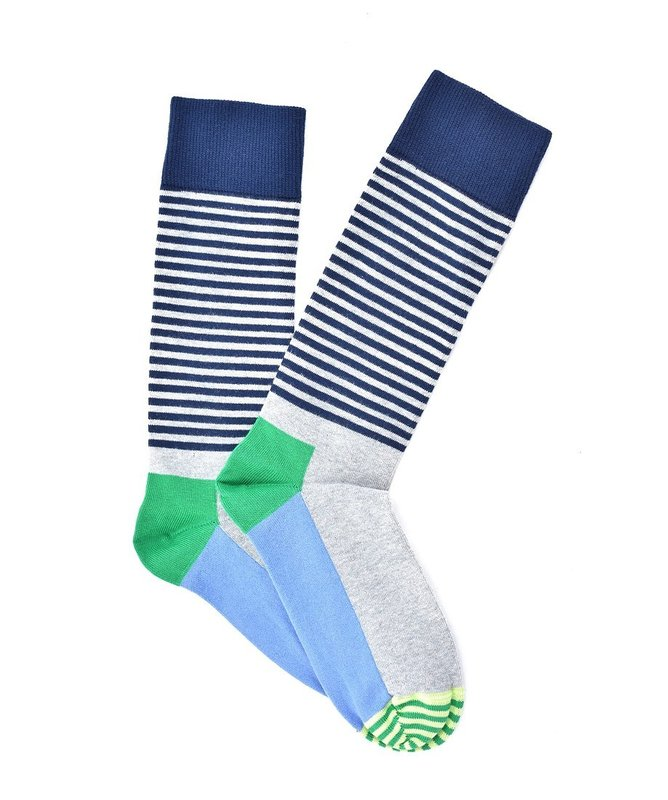 """Tiny Lines"" COOLor Socks"