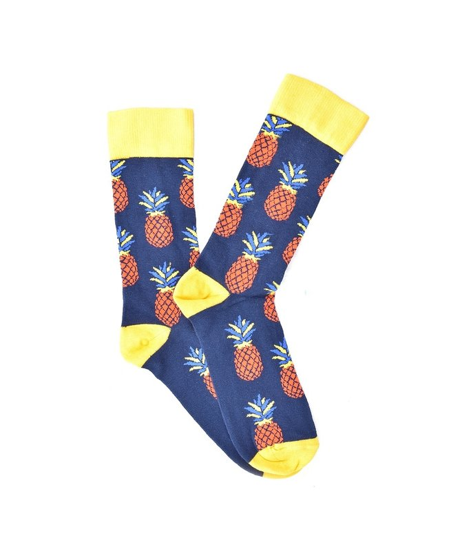 """Fruity Pineapple"" COOLor Socks"